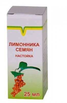 настойка семян лимонника инструкция по применению цена
