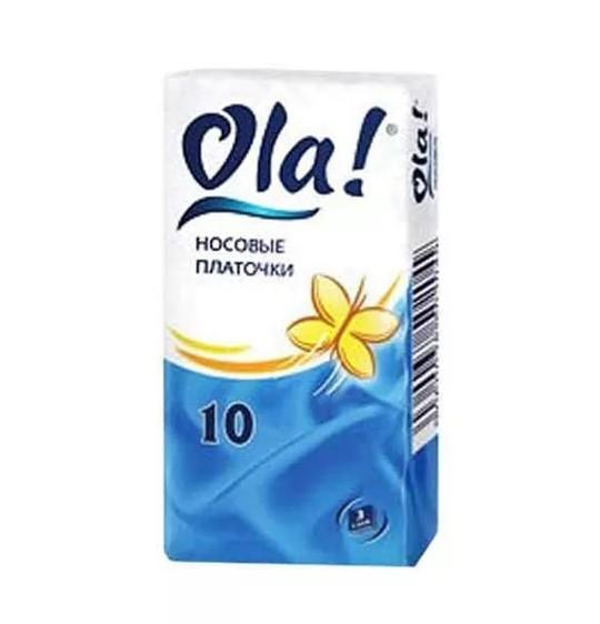 Ола платочки бумажн. №10 купить в Москве по цене от 14 рублей