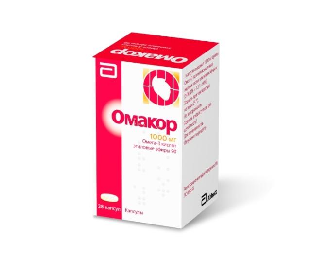 Омакор капсулы 1г №28 купить в Москве по цене от 1750 рублей