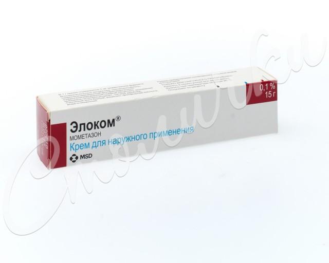 Элоком крем 0,1% 15г купить в Москве по цене от 75.5 рублей