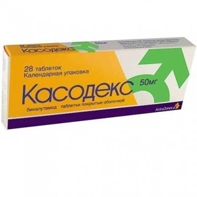 Касодекс таблетки п.о 50мг №28 купить в Москве по цене от 2040 рублей