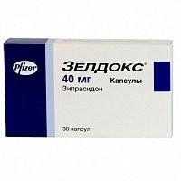 Зелдокс капсулы 40мг №30 купить в Москве по цене от 3680 рублей