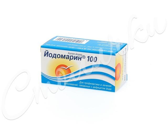 Йодомарин 100 таблетки №100 купить в Москве по цене от 129 рублей