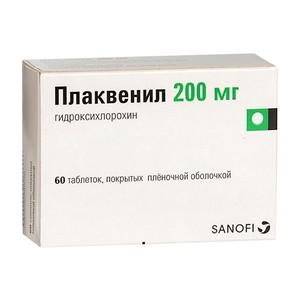 Плаквенил таблетки п.о 200мг №60 купить в Москве по цене от 485 рублей