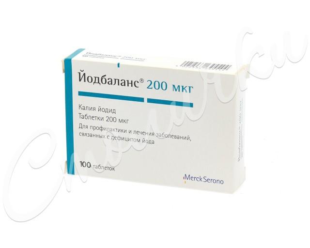 Йодбаланс 200 таблетки №100 купить в Москве по цене от 154 рублей