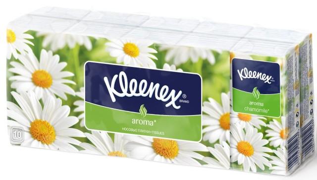 Клинекс платочки бумажн. ромашка №10х10 купить в Москве по цене от 128 рублей