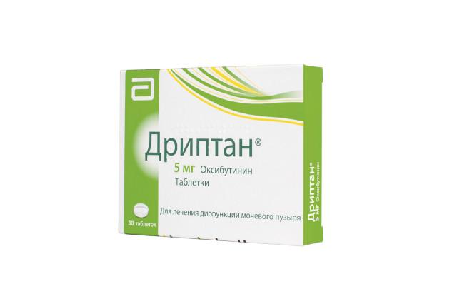 Дриптан таблетки 5мг №30 купить в Москве по цене от 801 рублей