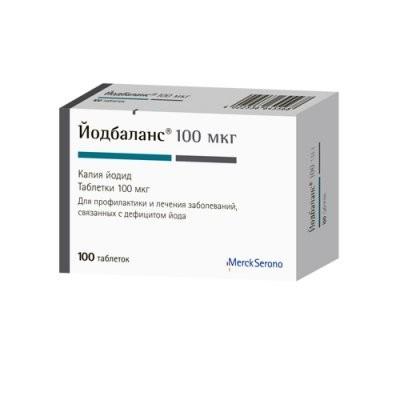 Йодбаланс 100 таблетки №100 купить в Москве по цене от 102.5 рублей