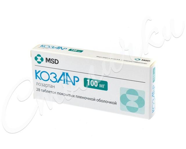 Козаар таблетки п.о 100мг №28 купить в Москве по цене от 174 рублей