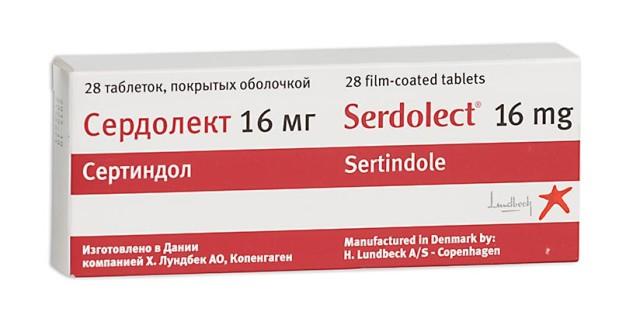 Сердолект таблетки п.о 16мг №28 купить в Москве по цене от 6646 рублей