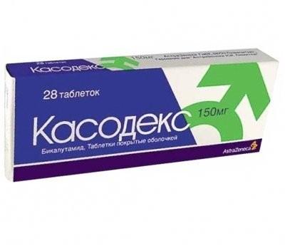Касодекс таблетки п.о 150мг №28 купить в Москве по цене от 5971.5 рублей