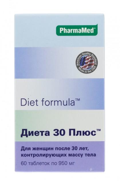 Диет/ф Диета 30 плюс таблетки №60 купить в Москве по цене от 829 рублей