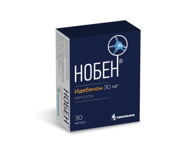 Нобен капсулы 30мг №30 купить в Москве по цене от 569 рублей