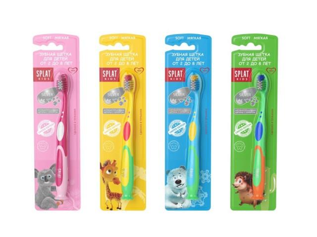 Сплат зубная щетка для детей 2-8лет купить в Москве по цене от 174 рублей