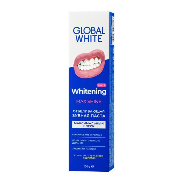 Глобал Вайт зубная паста отбелив.ежедн. 100мл купить в Москве по цене от 205 рублей