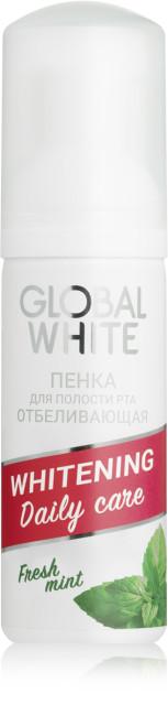 Глобал Вайт пенка д/пол.рта отбелив. 50мл купить в Москве по цене от 195 рублей
