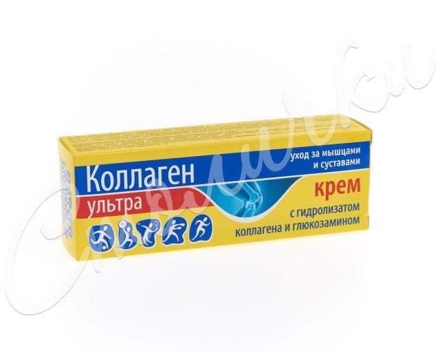 Коллаген ультра крем 75мл купить в Москве по цене от 133 рублей