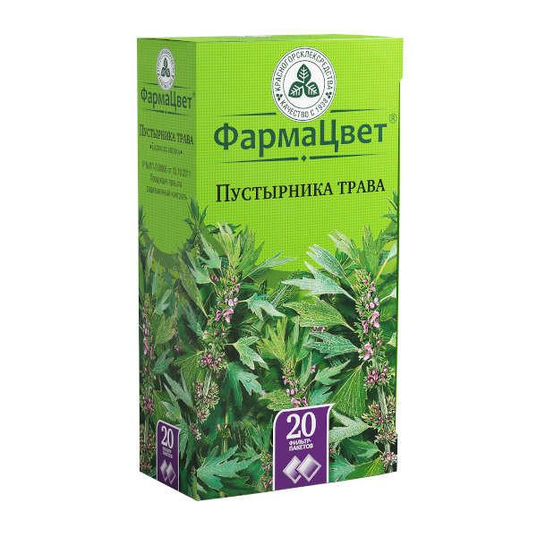 Пустырник трава 1,5г №20 купить в Москве по цене от 68 рублей