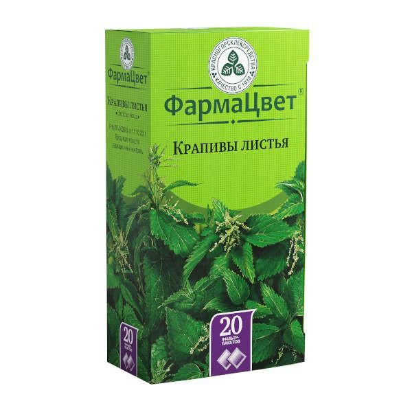 Крапива листья 1,5г №20 купить в Москве по цене от 61 рублей