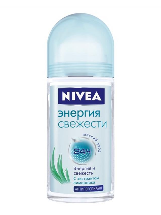 Нивея дезодорант-ролик Энергия свежести 50мл 83754 купить в Москве по цене от 157 рублей