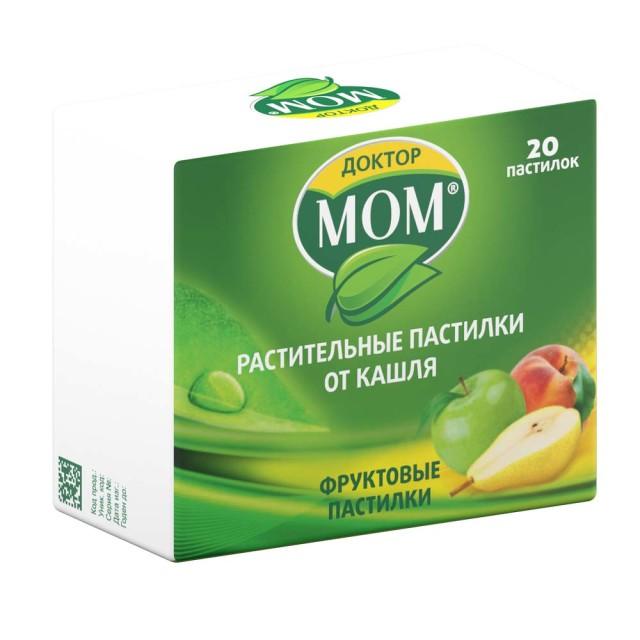 Доктор Мом паст. Фруктовые №20 купить в Москве по цене от 142 рублей
