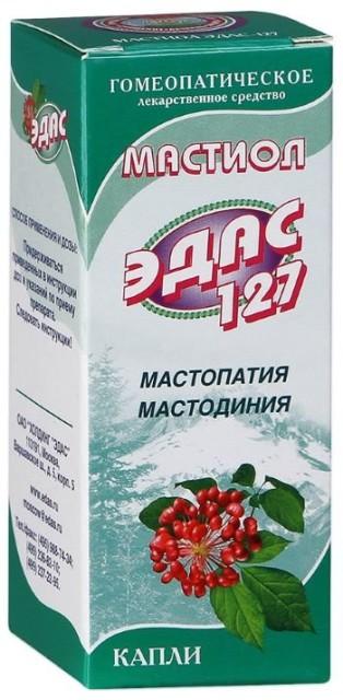Эдас-127 Мастиол (мастопатия) капли 25мл купить в Москве по цене от 262 рублей