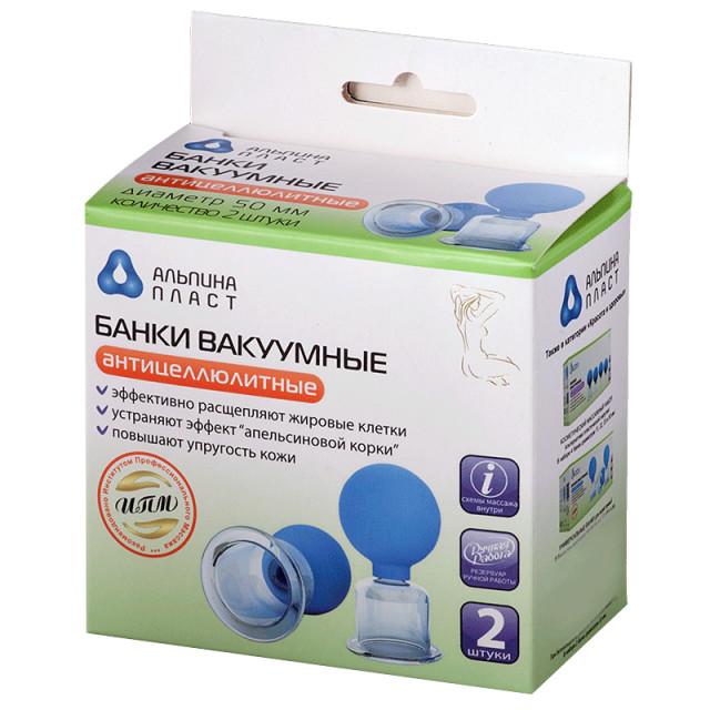 Банки сухие вакуумные полимерно-стеклянные БВ-01-АП №2 купить в Москве по цене от 888 рублей