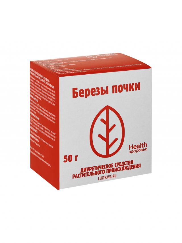 Береза почки Здоровье 50г купить в Москве по цене от 119 рублей