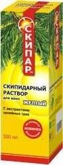 Скипар раствор для ванн желтый 500мл набор купить в Москве по цене от 457 рублей
