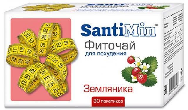 Сантимин чай Земляника ф/п 2г №30 купить в Москве по цене от 87 рублей