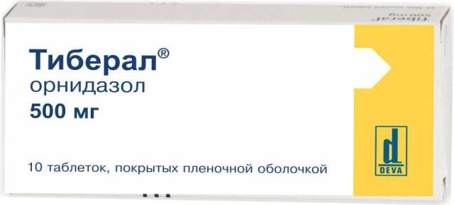 Тиберал таблетки п.о 500мг №10 купить в Москве по цене от 703 рублей