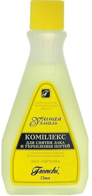 Умная эмаль комплекс д/снят.лака лимон 75мл купить в Москве по цене от 96 рублей