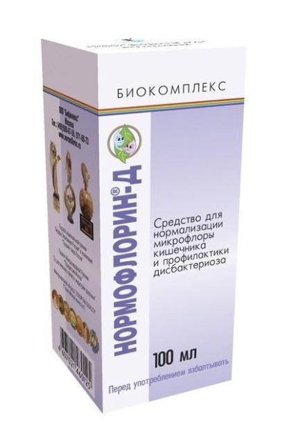 Нормофлорин-Д биокомплекс конц. жидк. 100мл купить в Москве по цене от 194.4 рублей