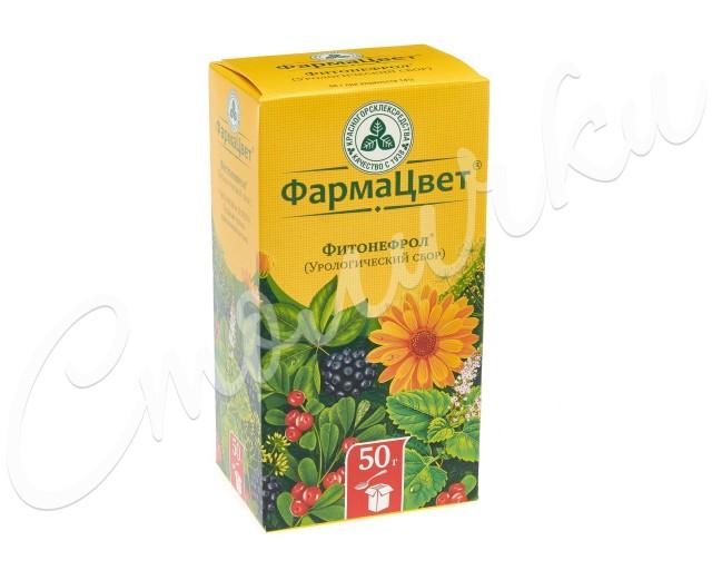 Сбор урологический (фитонефрол) 50г купить в Москве по цене от 78 рублей