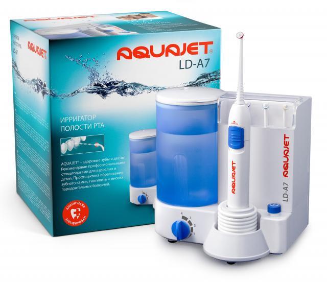 Литл Доктор Ирригатор полости рта Aquajet LD-A7 купить в Москве по цене от 3030 рублей