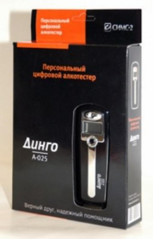 Алкотестер Динго А-025 купить в Москве по цене от 0 рублей