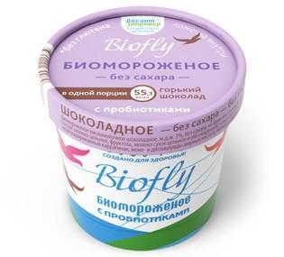 Биомороженое Биофлай Горький шоколад 3% 45г купить в Москве по цене от 67 рублей