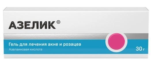 Азелик гель 15% 30г купить в Москве по цене от 724 рублей
