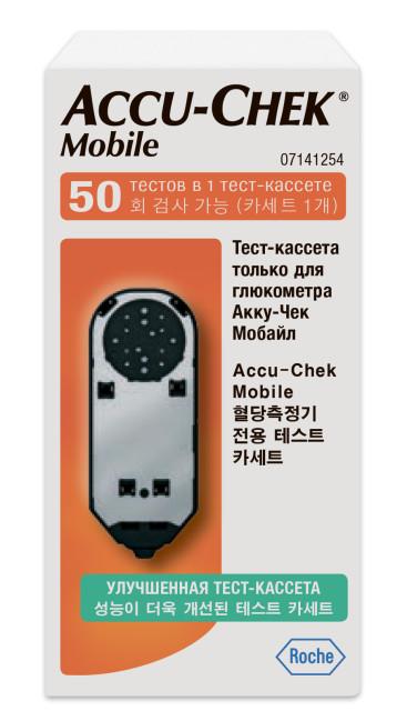 Акку-Чек Мобайл тест-кассета купить в Москве по цене от 1370 рублей