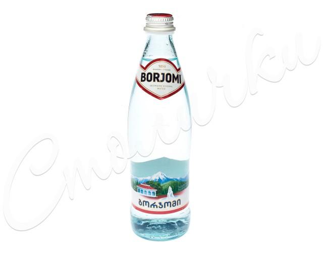 Вода минеральная Боржоми 0,5л стекло купить в Москве по цене от 83 рублей