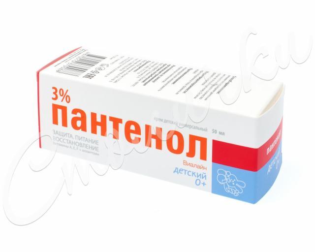 Пантенол Виалайн крем универсал. для детей 3% 50мл купить в Москве по цене от 298 рублей