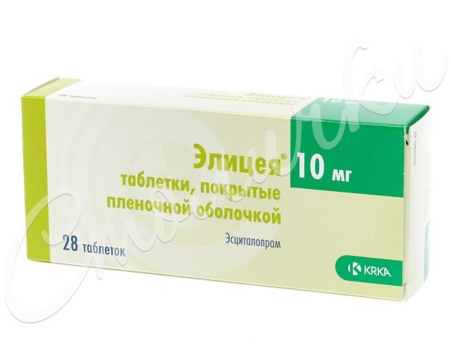 Элицея таблетки п.о 10мг №28 купить в Москве по цене от 774 рублей