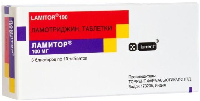 Ламитор таблетки 100мг №30 купить в Москве по цене от 631 рублей