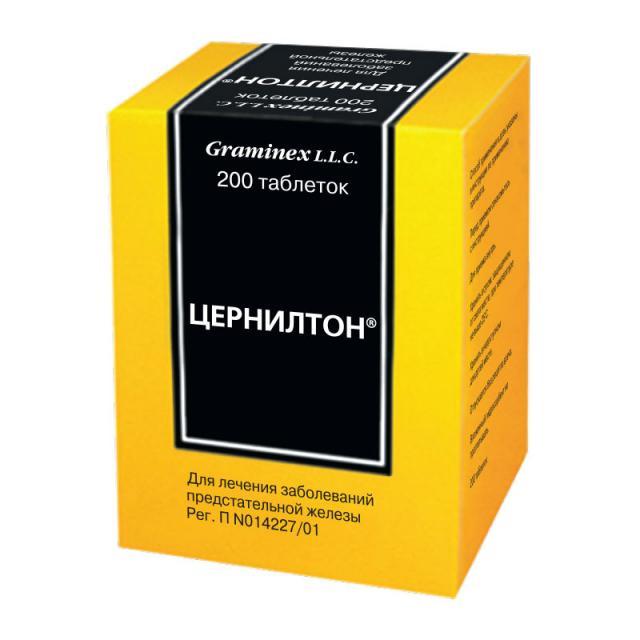 Цернилтон таблетки №200 купить в Москве по цене от 0 рублей