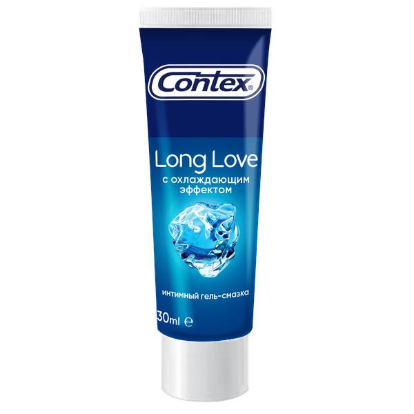 Контекс гель-смазка Long Love (охлажд.) 30мл купить в Москве по цене от 204 рублей