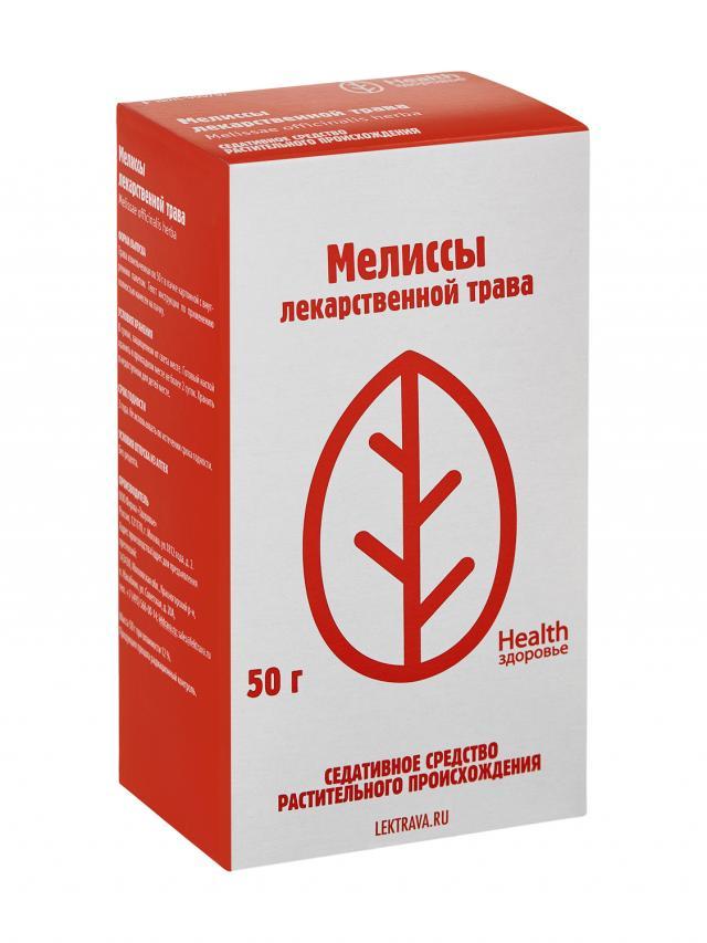 Мелисса лекарственная трава Здоровье 50г купить в Москве по цене от 57 рублей