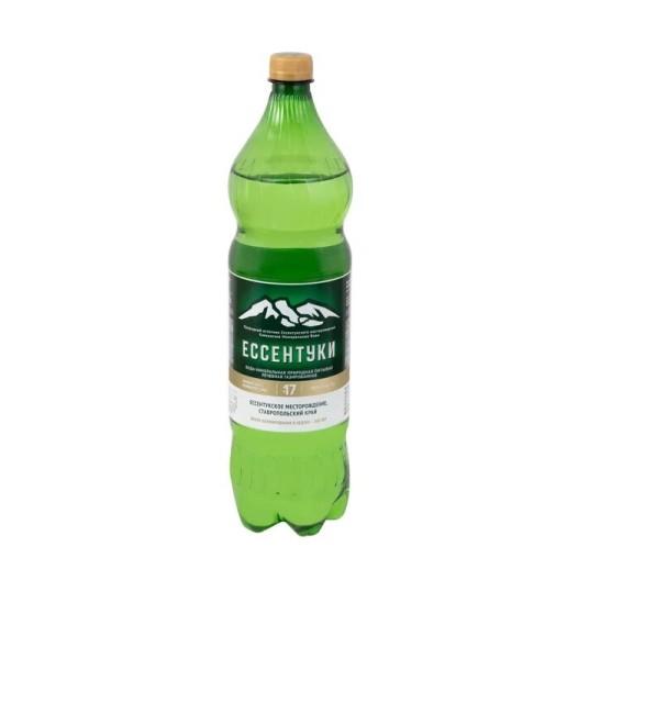 Вода минеральная Ессентуки №17 1,5л купить в Москве по цене от 98 рублей