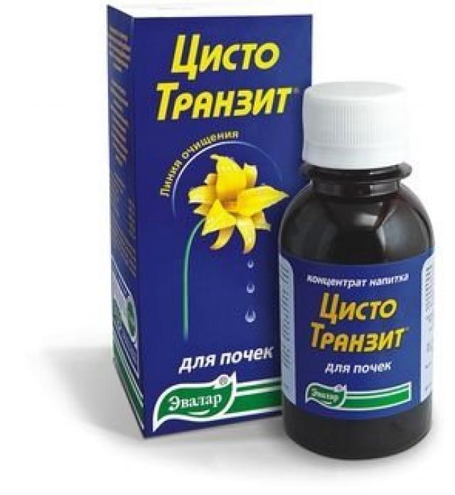 Цистотранзит концентрат напитка Эвалар 100мл купить в Москве по цене от 0 рублей