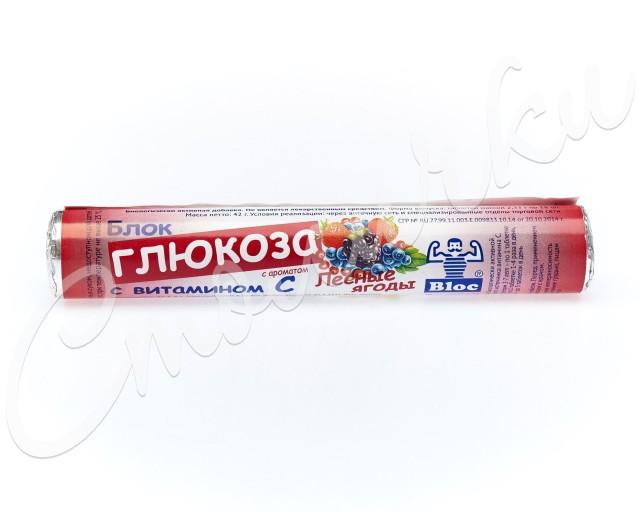 Блок Глюкоза Вит.С/Лесные ягоды таблетки №18 купить в Москве по цене от 98 рублей