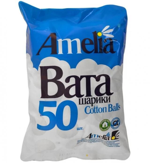 Амелия ватные шарики 35г №50 купить в Москве по цене от 51 рублей